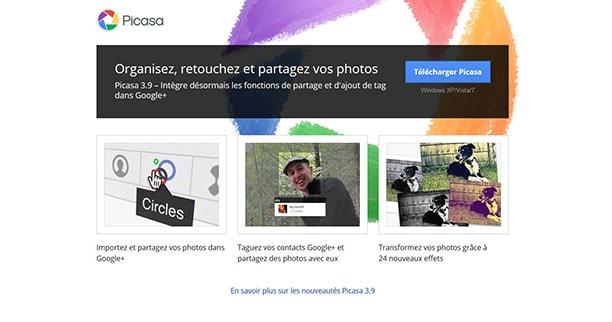 Picasa, alternative gratuite à photoshop