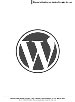 guide back-office wordpress