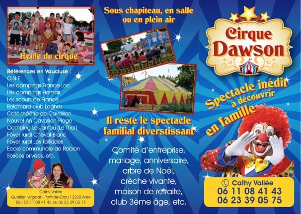 recto flyer cirque dawson