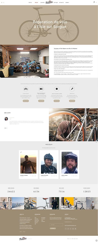 site internet la pedalerie